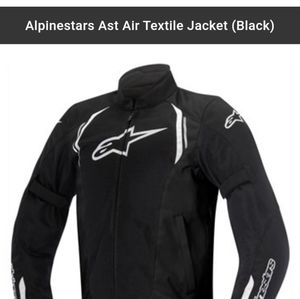 Alpinestars AST Air textile Motorcycle jacket